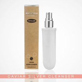 Beauty Hills, Kosmetik, Umweltschutz, Nachhaltigkeit, Nachfüller, Refill, Produkt Caviar Silver Cleanser