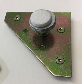 Bildaufhänger für schwere Bilder - M-Fix-Basic M5 - 60x60x1.5mm mit Tubtara