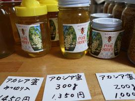 下りの途中で寄った生蜂園さん。良質のはちみつが手に入ります!こちらでオススメのアカシア蜜をおみやげに買いました(^^)