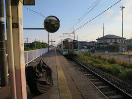 岩室駅の写真