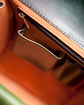 Detail in der Tasche