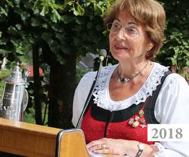 Christine Helene Lackner, 2018