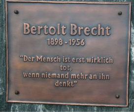 Bertolt Brecht, 2008