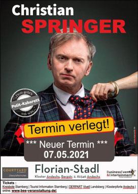 Christian Springer tickets