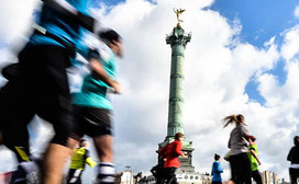 semi-marathon, running, paris