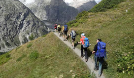 Aktiv Reisen Wandern in den Bergen