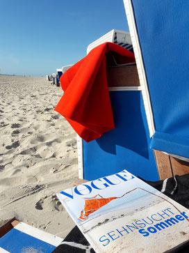 Sehnsucht sommer Vogue strand
