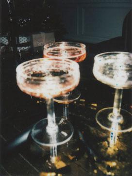 Champagner trinken Sylt