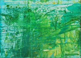 """Morning Break II"", 2020, oil, pigments on canvas, 40 cm × 30 cm, copyright Christina Mitterhuber"