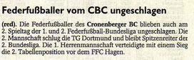 Westdeutsche Zeitung Bericht vom 11.03.2003