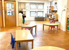 神戸六甲こどものための英会話教室  Roly-Poly English Club  ローリー・ポーリー・イングリッシュ・クラブの室内・内観