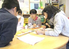 こどものための英会話教室ローリー・イングリッシュ・クラブ:小学高学年クラスの様子