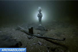 Osiris votive found in waters off Alexandria Egypt