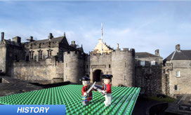 Jacobite history of British throne grab made with Legos