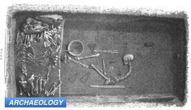 Archeology women viking warrior