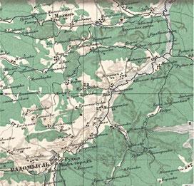 Карта Стелбицкого 1871 года