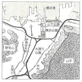 昭和43年2月の都市計画決定図