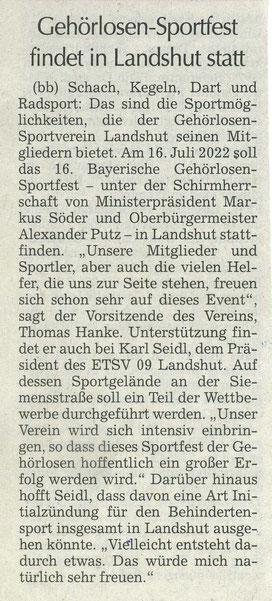 Quelle: Landshuter Zeitung 15.09.2021