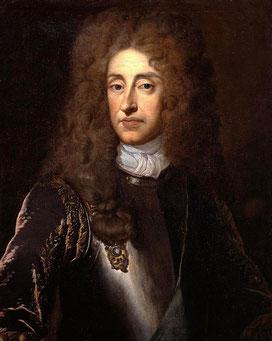 Портрет Якова II, работа сэра Кнеллера.