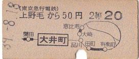 東京急行電鉄・大井町線
