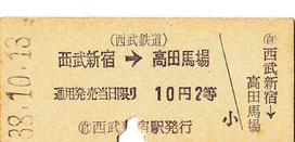 西武鉄道新宿線