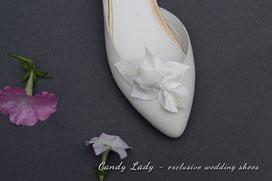 свадебные балетки с цветком Киев Харьков Луцк
