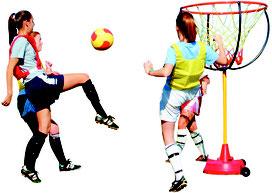Panier de basket-ball géant pour jeux de basket-ball avec panier pour enfants à acheter pas cher.