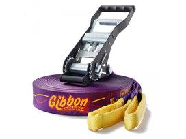 Slackline de marque Gibbon Surfer à acheter au meilleur prix. Slack-line de marque Gibbon de 30 mètres.