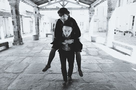 Finn-Ole Heinrich & Dita Zipfel (Foto: Dawn Stoloff)