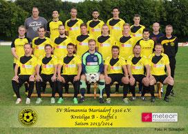 Kreisliga B Staffel 1 Saison 2013/2014