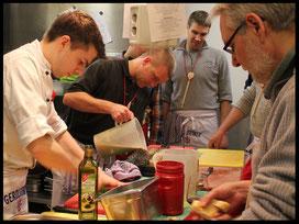 Kochevent mit Küchenchef Moritz Suhr