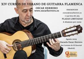 Cursos Guitarra Flamenca