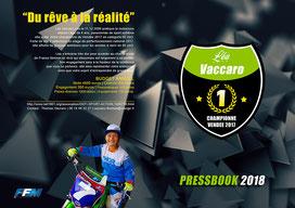 Press book motocross Lea Vaccaro