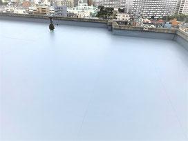 事例2957 江東区9階建賃貸M屋上防水工事