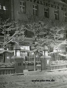 Das Hotel im Schnee
