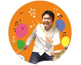 ドラム教室の先生 粟野昌良