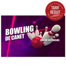 Bowling de Canet partenaire Loisirs 66