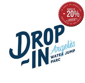 Drop in Water jump Argeles partenaire Loisirs66.fr la carte de réduction