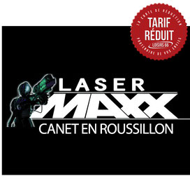 Réductions Laser Maxx Canet Loisirs 66