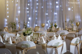 décoration de table et salle de mariage