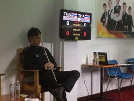 桑田選手inタイ。痺れる写真