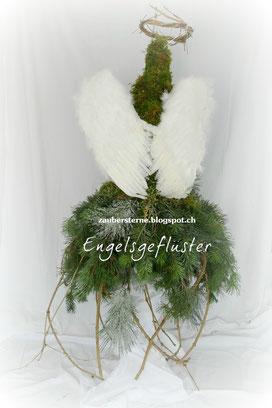 DIY Blog Schweiz, DIY Engel, Kreativblog Schweiz, Engel Floristik, Engel selber machen