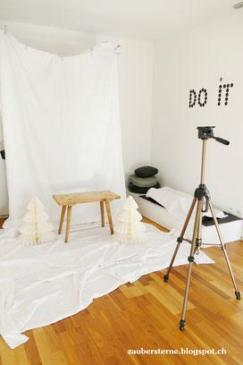 DIY Fotostudio, Weihnachtsfotos, Photography miriweber.ch, Blog Schweiz