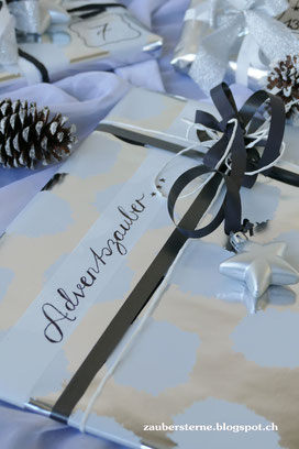 DIY Blog, Adventskalender, schön verpacken, Adventszauber, Ideen Adventskalender