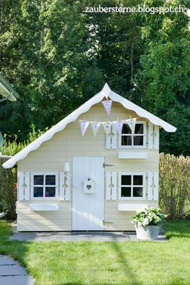 Kinderspielhaus Tom, Spielhaus, Spielhaus DIY, Familienblog Schweiz
