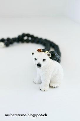 DIY Kinderkette, Kette mit Tieren, Kette mit Schleichtieren, Kreativblog Schweiz