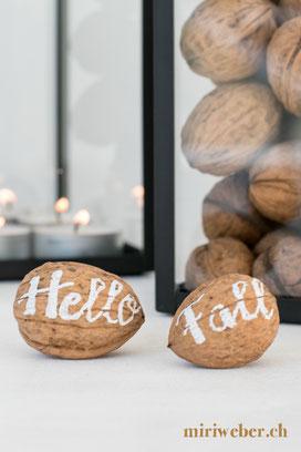 lettering, herbst, diy blog, schweiz, kreativblog