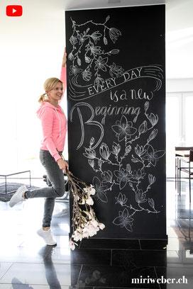 chalkboard, chalkboard lettering, lettering, kreidetafel, selber machen, diy, tafel, malen, tafel beschriften, tafelmaler, kreide tafel, schweiz, diy blog schweiz