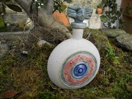 Cerámica, celta, castrexo, frasco. Monte Santa Trega, A Guarda, Pontevedra, Galicia