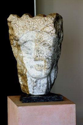 Kopf     Peccia Marmor ca. 50 cm